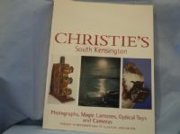 Christies Photographs, Magic Lanterns, Optical Toys and Camera Catalogue -UNUSED-MINT-  £6.99